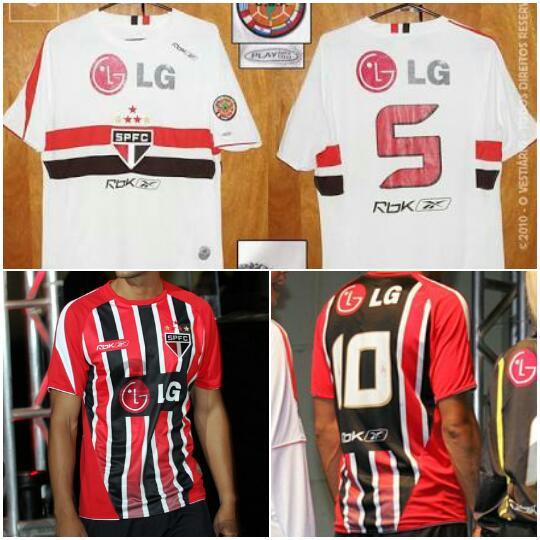 14f7de61df Camisas do São Paulo nos últimos 10 anos – Blog GIGANTE TRICOLOR